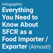Infographic: Everything You Need to Know About the Safe Foods for Canadians Regulation as a Food Importer / Exporter (Almost!)